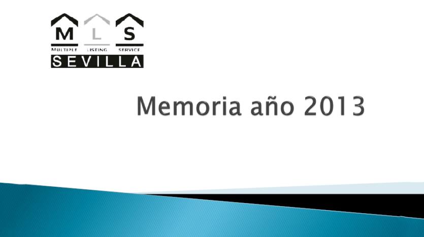 Memoria de actividades 2013