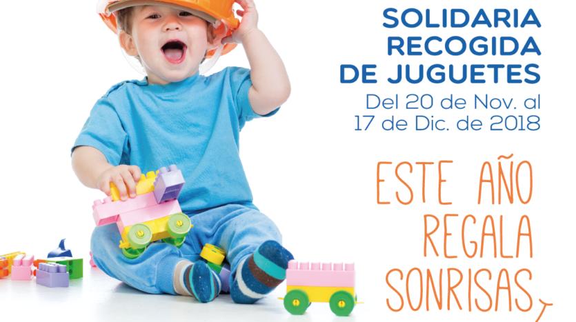 Recogida de juguetes Sevilla 2018