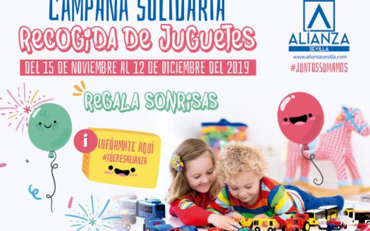VI campaña solidaria recogida de juguetes