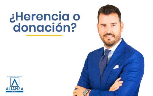 donar o heredar piso en Sevilla